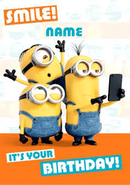 card invitation design ideas birthday card despicable me banana