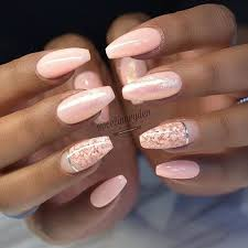 Light Pink Acrylic Nails The 25 Best Pink Nails Ideas On Pinterest Glitter Nails Pretty