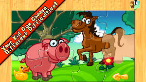 animal farm puzzle for kids android apps on google play