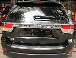 2004 jeep grand cherokee tail light assembly 2018 abs chrome rear tail light l taillight cover box trim for 11