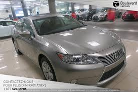 lexus es canada 2015 lexus es 350 premium 30 995 québec boulevard lexus