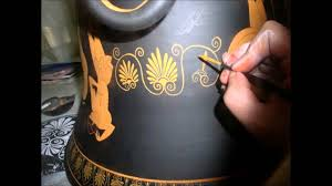 Clay Vase Painting How Were The Ancient Greek Vases Made Painting Process Youtube