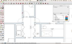 How To Make A Floor Plan In Google Sketchup by Sketchup Floor Plan Tutorial Doors And Windows