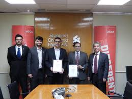 acca awards standard chartered bank with global accreditation