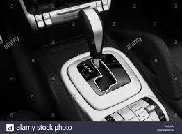 2008 Porsche Cayenne - 2008 porsche cayenne turbo in gray headlight stock photo