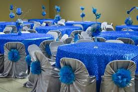 quinceanera table centerpieces royal blue quinceanera decoration royal blue quinceanera table