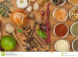 the joy of cooking preparation of spices various kinds of spices