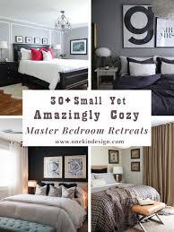 Master Bedroom Ideas For A Small Room 30 Small Yet Amazingly Cozy Master Bedroom Retreats