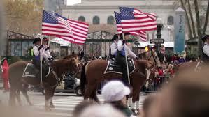 Thanksgiving November 26 New York Nov 26 Macy U0027s Thanksgiving Day Parade With Horses And
