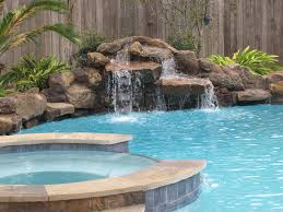 diy pool waterfall pool swimming pool waterfall