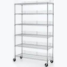 home depot kauai black friday 6 tier 47 7 in x 77 in x 18 in wire industrial use shelving