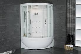 julius steam shower with whirlpool bathtub