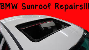 how to fix common bmw e46 sunroof problems