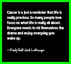 cancer survivor quotes cancer is just a reminder that