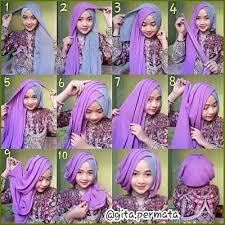 tutorial jilbab segi 4 untuk kebaya 30 tutorial hijab kebaya wisuda paling kekinian terbaru 2018