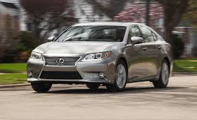 lexus es model years 2015 lexus es350 test u2013 review u2013 car and driver