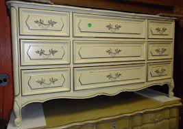 Vintage Bedroom Dresser Furniture Fancy Image Of Vintage Carved White Provincial
