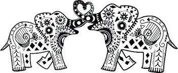 elephant love coloring page elephant coloring pages coloring ideas