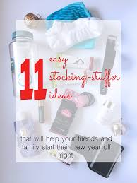 stocking stuffers for adults easy stocking stuffer ideas for health and fitness