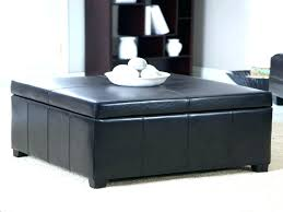 armen living coffee table coffee table storage ottoman s s armen living corbett leather and