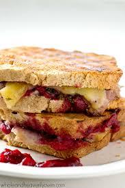 leftover turkey cranberry mozzarella panini whole and heavenly oven