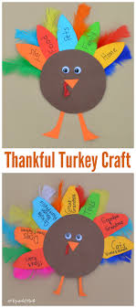 thankful turkey kid craft and book thankful thanksgiving and craft