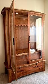 Building A Gun Cabinet Gun Cabinet In Mesquite U0026 Cherry On Behance