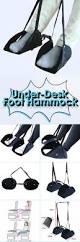 portable adjustable mini office foot rest stand desk foot hammock