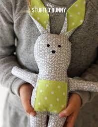 alice and loisdiy stuffed bunny