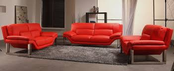 new york modern 3 piece sofa set
