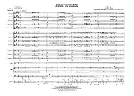 Count Basie Big Band Charts April In By Vernon Duke Trans Jeff Hest J W Pepper Sheet