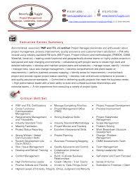 Management Sample Resume by Pmp Resume Samples Resume Cv Cover Letter Pmp Resume Sample Pmp