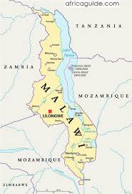 africa map malawi malawi travel guide