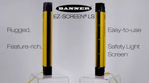 safety light curtain ez screen ls product video youtube