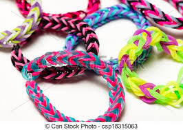 bracelet with rubber bands images Rubber band bracelets a macro shot of rubber band bracelets jpg