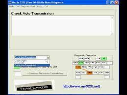 mazda 323f year 90 98 on board diagnostic tool youtube