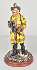 firefighter figurines hats of courage vanmark ready for 9 fireman figurines