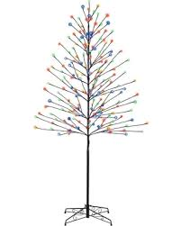 bargains on philips 6ft pre lit led artificial tree