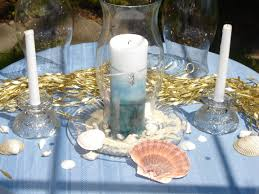 beach themed wedding centerpieces pictures tidal treasures