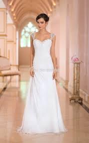wedding dresses with straps wedding dresses ruffles sweetheart neckline applique beaded