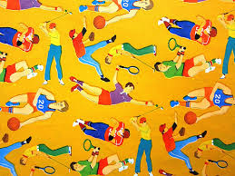 sports wrapping paper flickriver most interesting photos from vintage wrapping paper pool