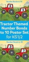 number bonds to 10 tractor posters for ks1 math pinterest
