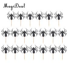 halloween party picks popular spider cake topper buy cheap spider cake topper lots from