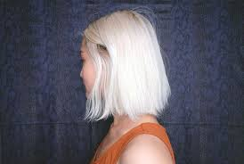 fixing bad angled bob haircut how i fixed my puffy triangle hair without going back to the salon