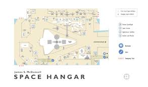 james s mcdonnell space hangar 2004 floorplan