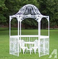 wedding arch gazebo for sale beautiful white wrought iron gazebo garden gates
