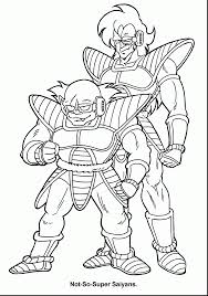 superb dragon ball coloring pages printable with dragon ball z