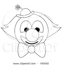 coloring pages of scary clowns scary clown faces black and white clip art u2013 clipart free download