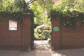 Secret Garden Wall by A Secret Garden In Tribeca U2013 New York On My Mind