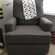 Best Chairs Glider Find More Best Chairs Kersey Upholstered Swivel Glider Recliner